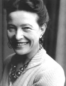 Simone de Beauvoir - (1908-1986)