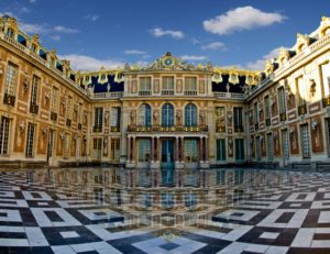 Palacio de Versalles, courde marbre
