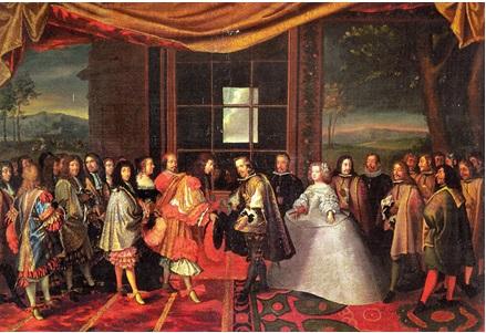 Entrevista de Luis XIV