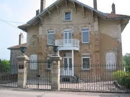 Barrès -Su casa en Charmes