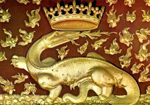 Francisco I - La salamandra fue su emblema