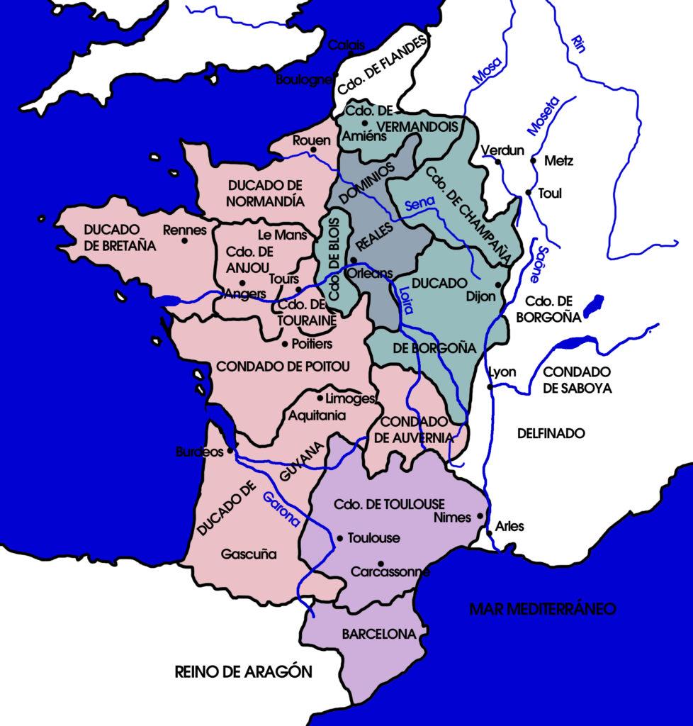 Francia a mediados del siglo XII