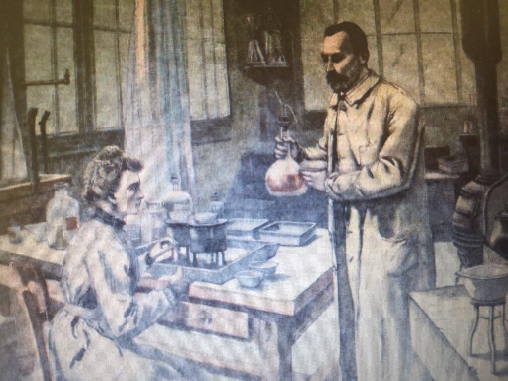Curie, Pierre (1859-1906) y Marie (1867-1934)