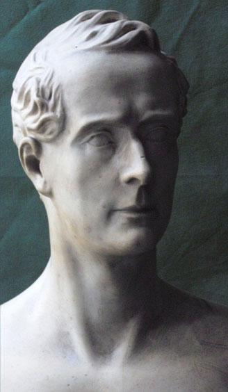 Alphonse de Lamartine. Busto del conde de Orsay