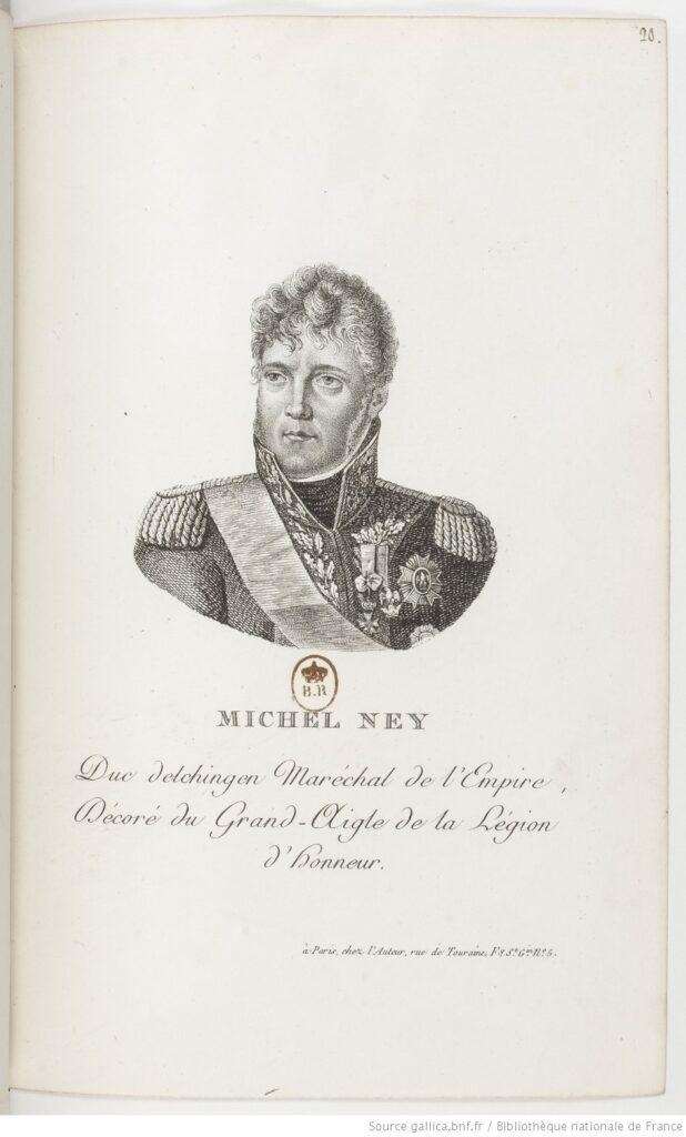 Michel Ney, duque de Elchingen y príncipe de la Moscova