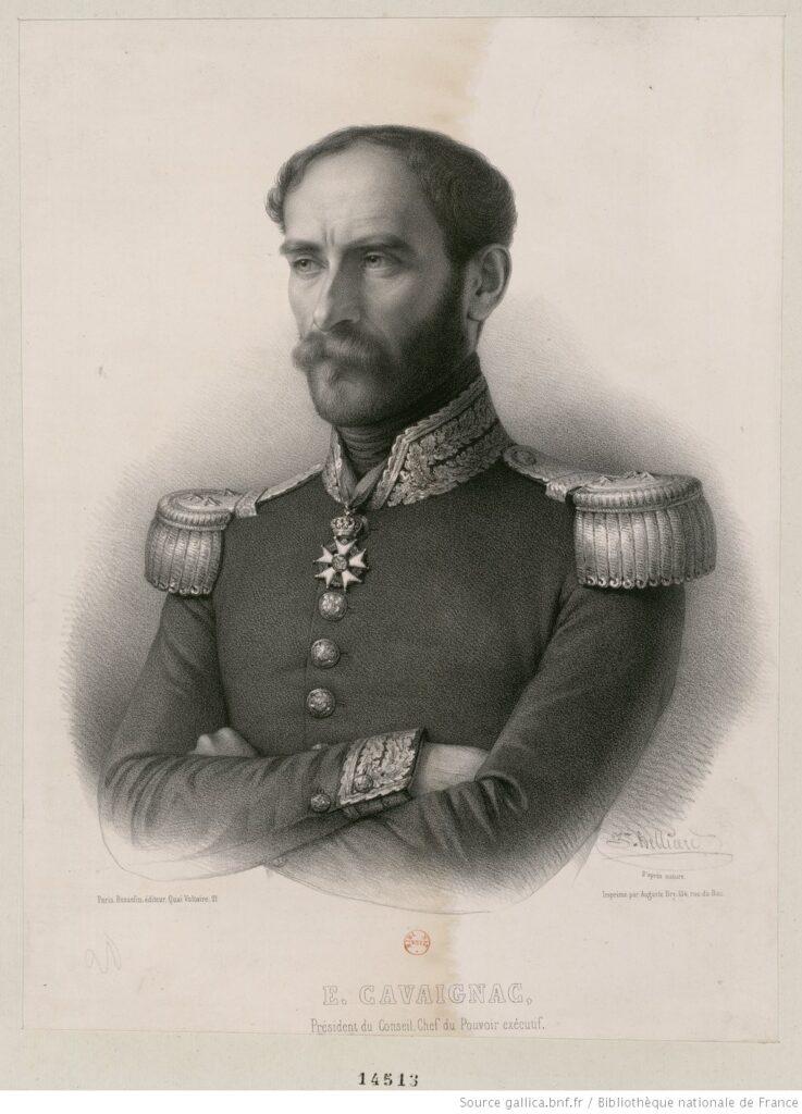Revolución 1848 - E. Cavaignac, Presidente del Consejo