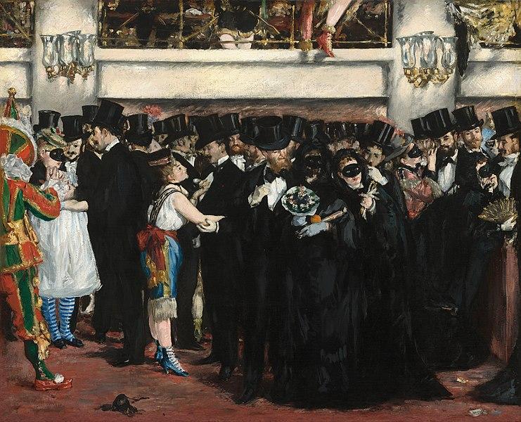 Bal masqué à l'opéra