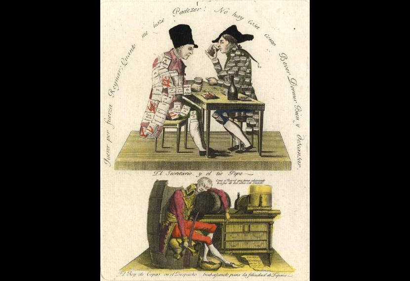 Caricatura satírica - José Bonaparte