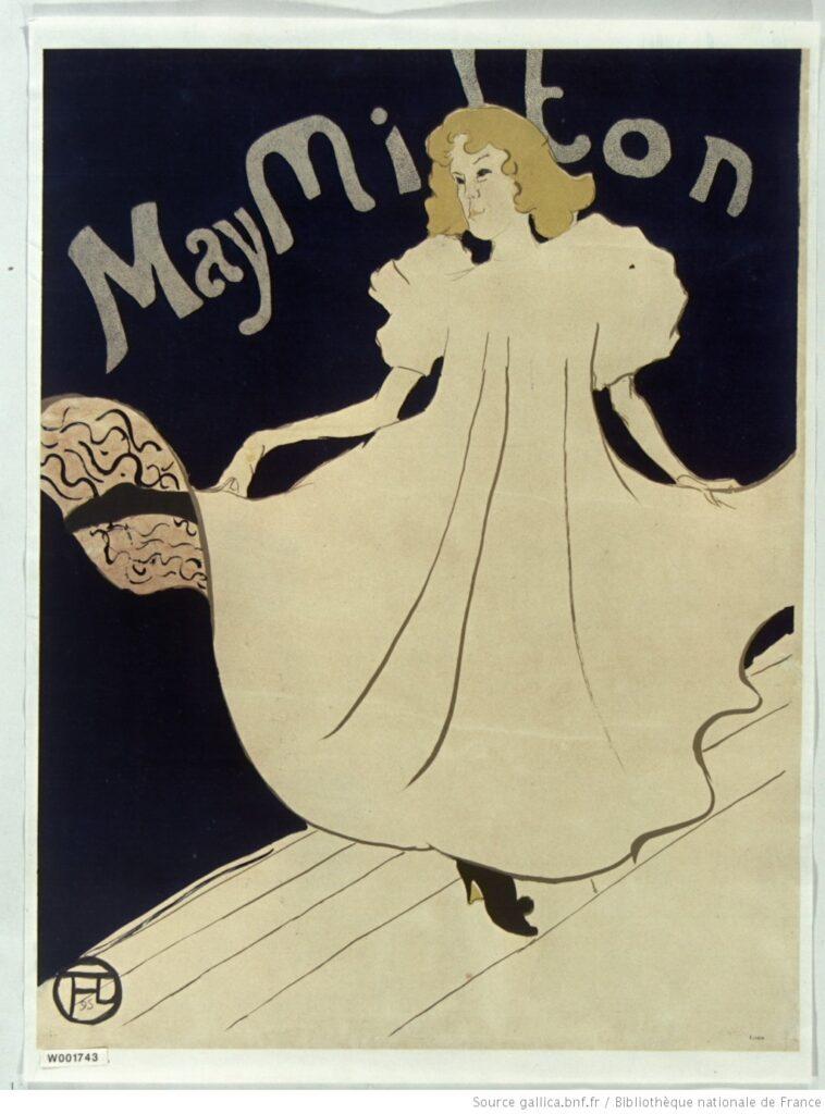 Toulouse Lautrec - May Milton (1895)
