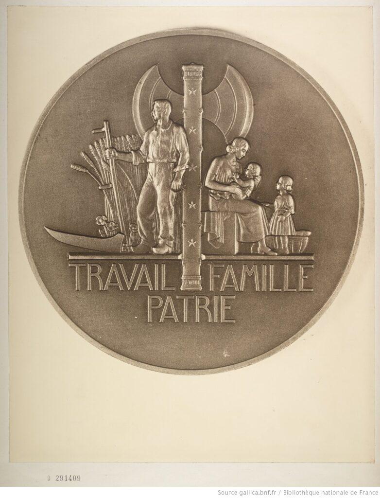 Pétain - La divisa del nuevo régimen