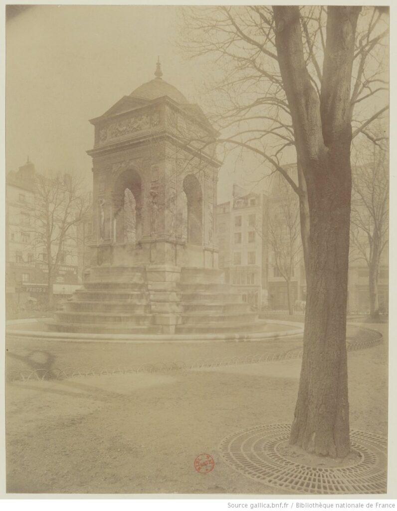 Pierre Lescot. Fontaine des Innocents (foto de Eugène Atget (1857-1927). BNF