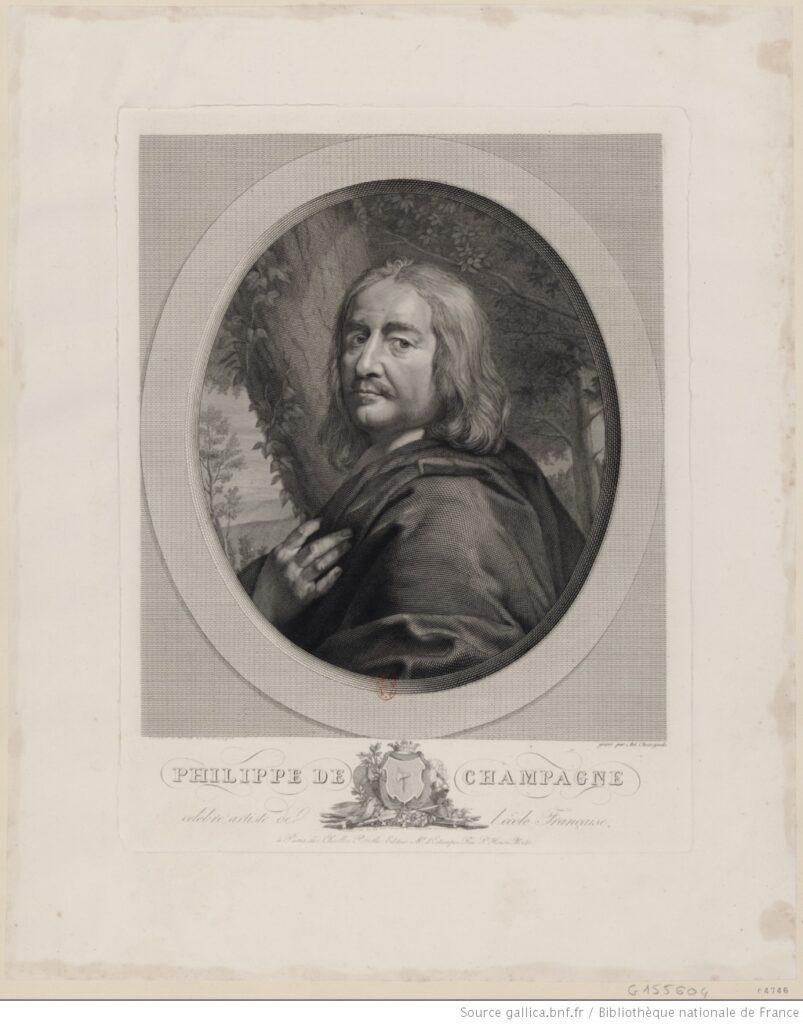 Philippe de Champaigne (Estampa, BNF).