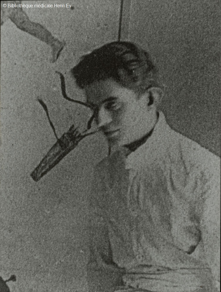 Jacques Lacan joven