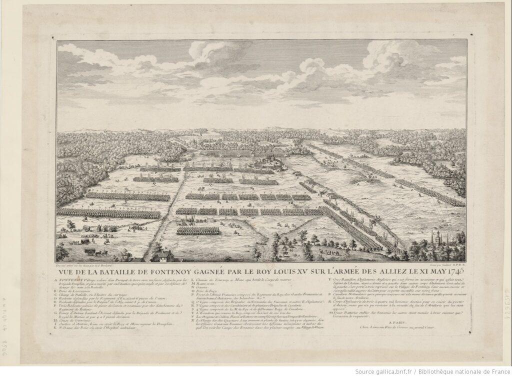 Victoria de Fontenoy (Bélgica). 11 de mayo de 1745