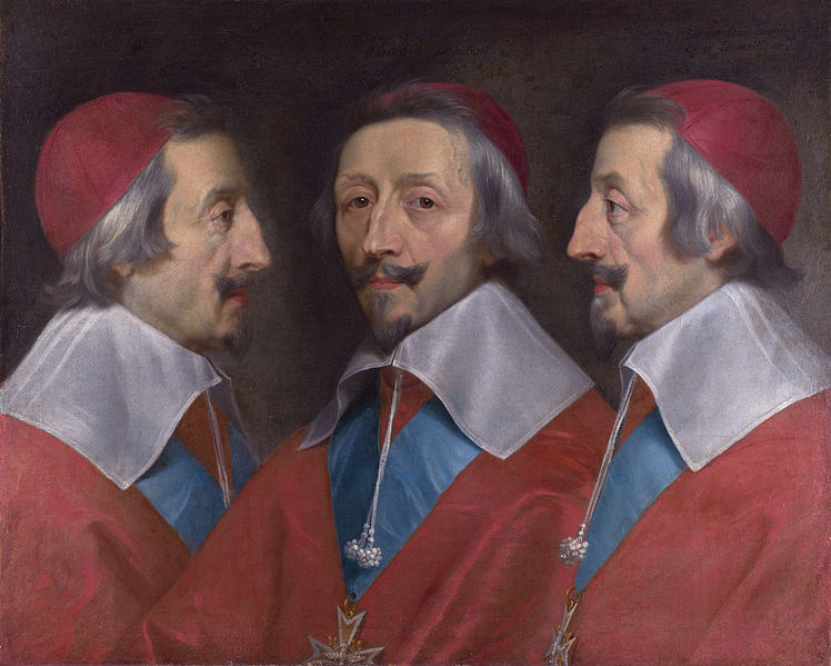 Philippe de Champaigne (retrato de Richelieu)