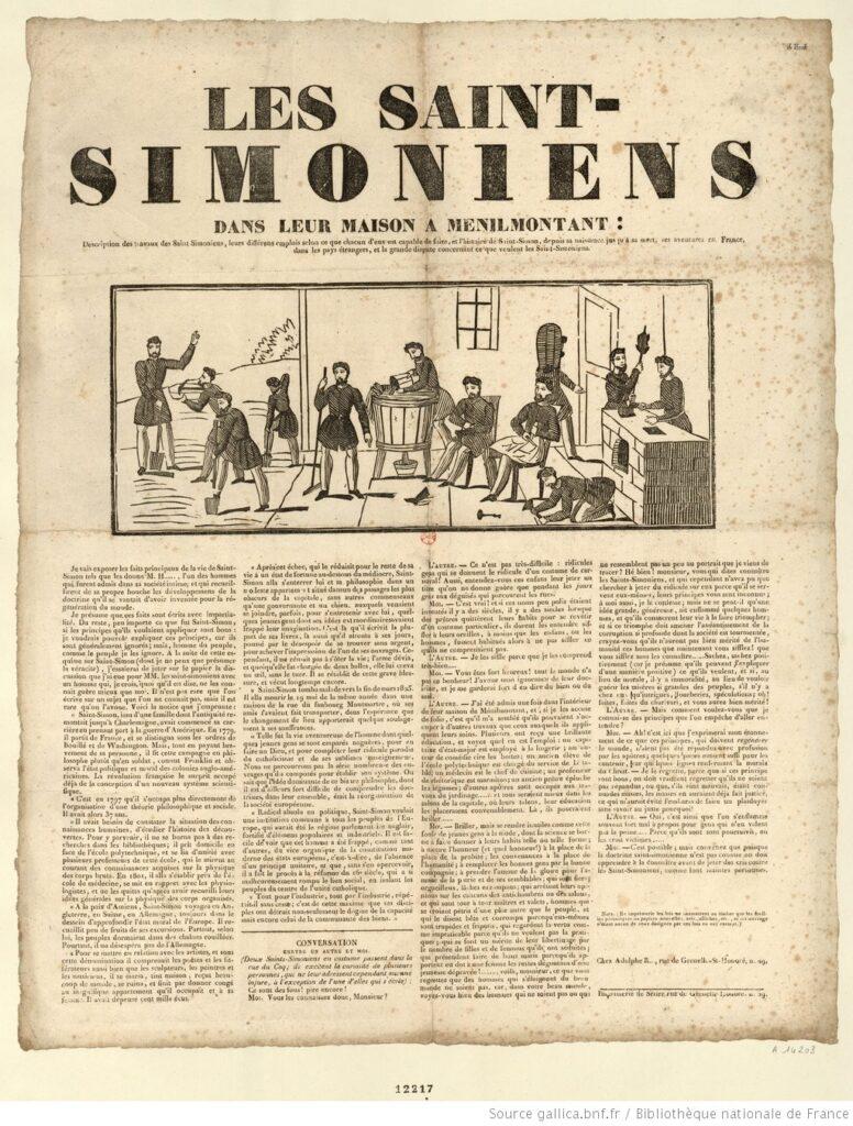 Saint Simon y el sansimonismo - Los sansimonianos