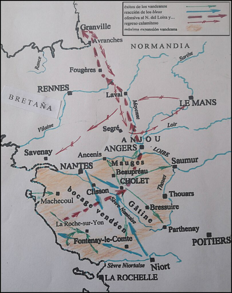 Guerras Vandeanas (1793/1796 y siguientes)