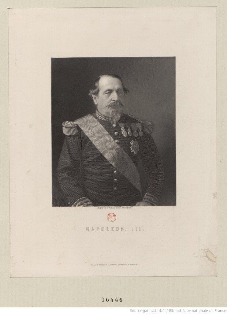 Napoléon III. Fotografía (BNF, Estampes et photographies, BNF).