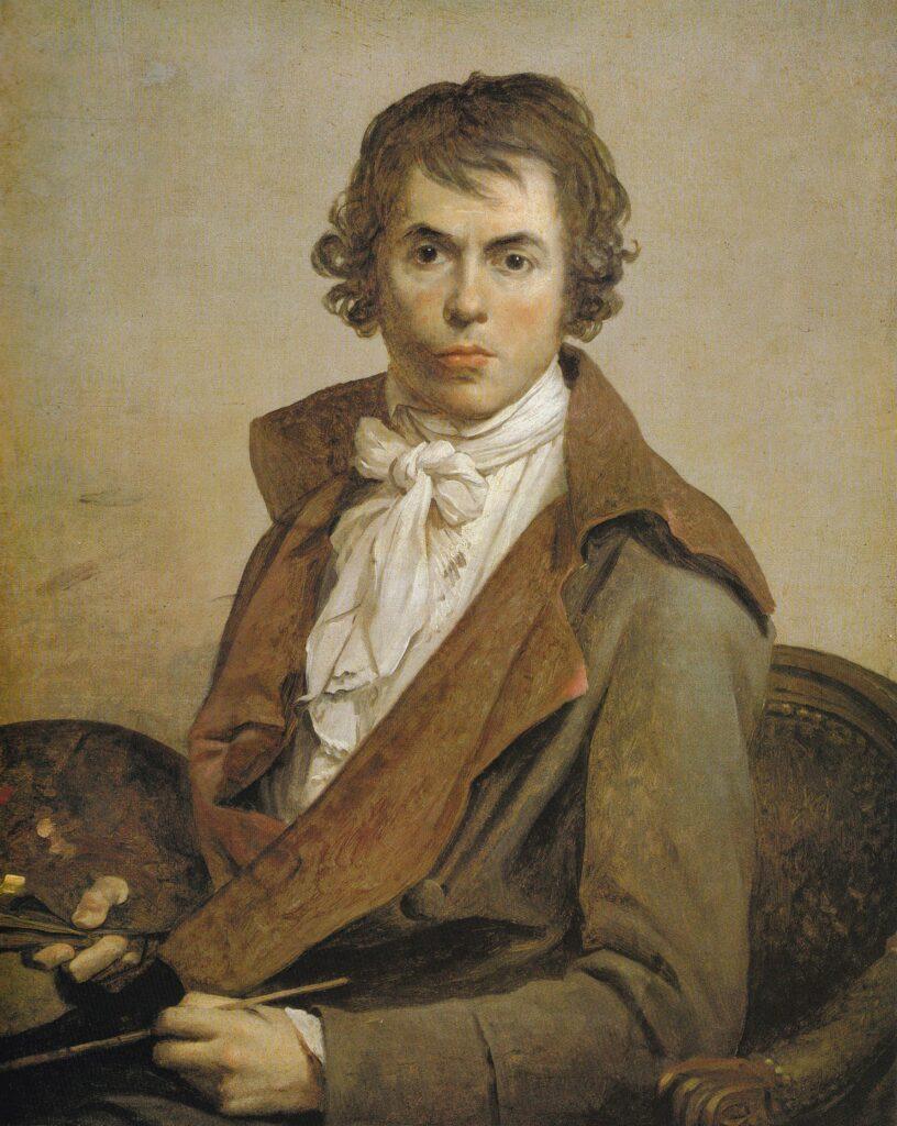 David, Jacques Louis - Autorretrato 1794, Louvre