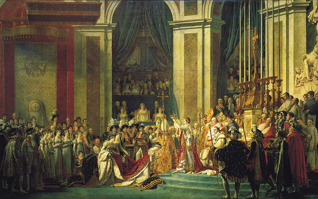 La Coronación de Napoleón
