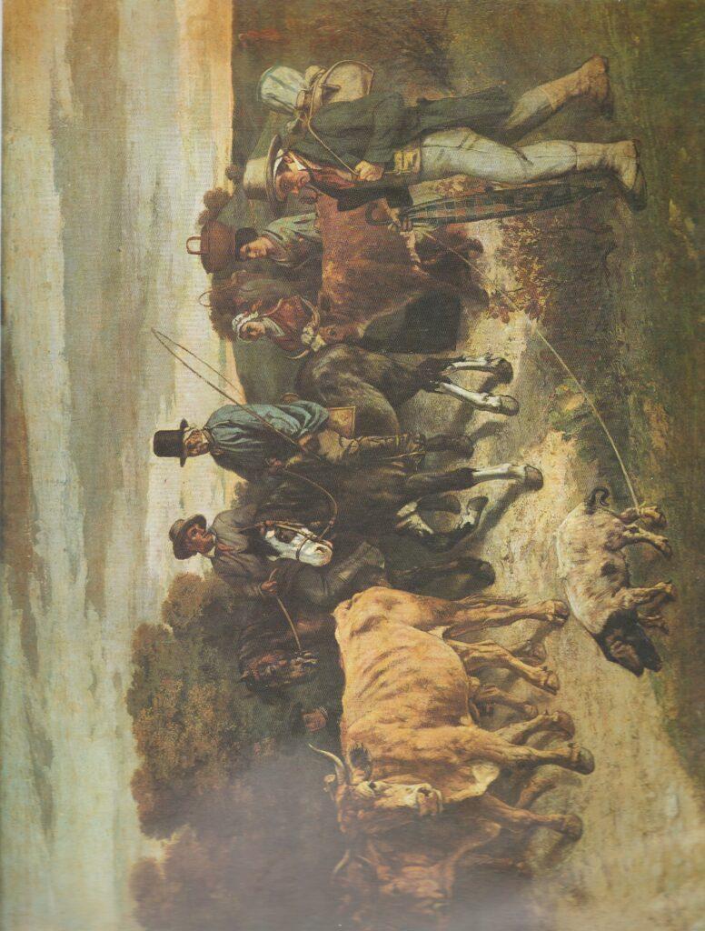 Courbet. Regreso de la feria de Flagey
