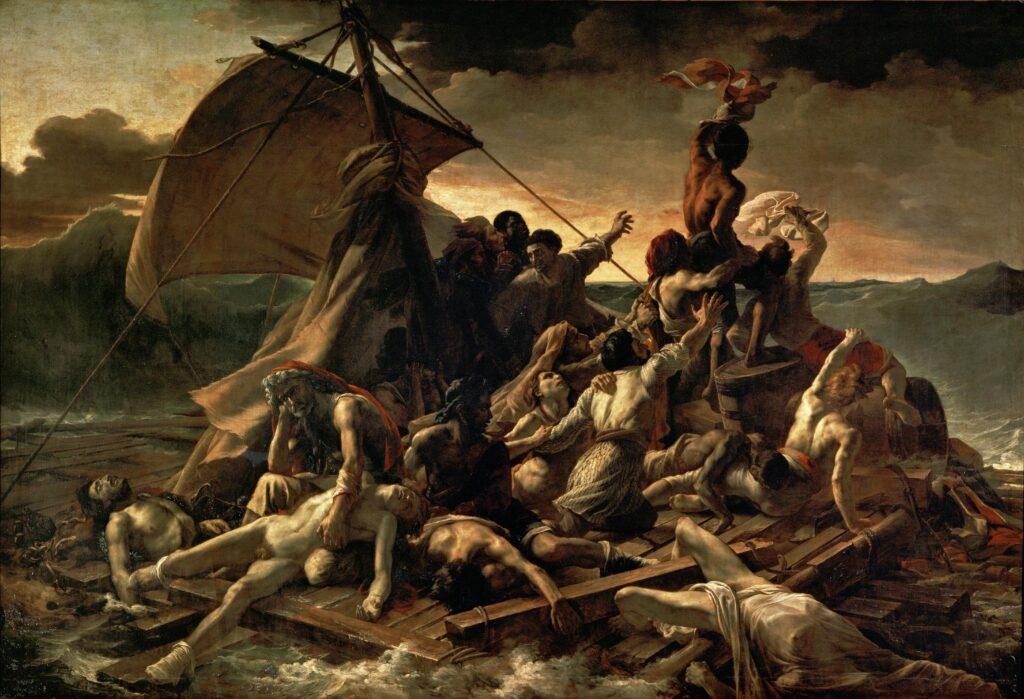 Géricault. La Balsa de la Medusa (1819).
