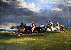 Géricault. Derby d'Epsom (1821)