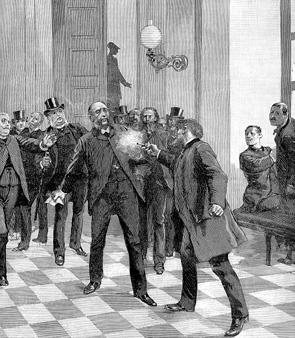 El atentado contra Jules Ferry (BNF)