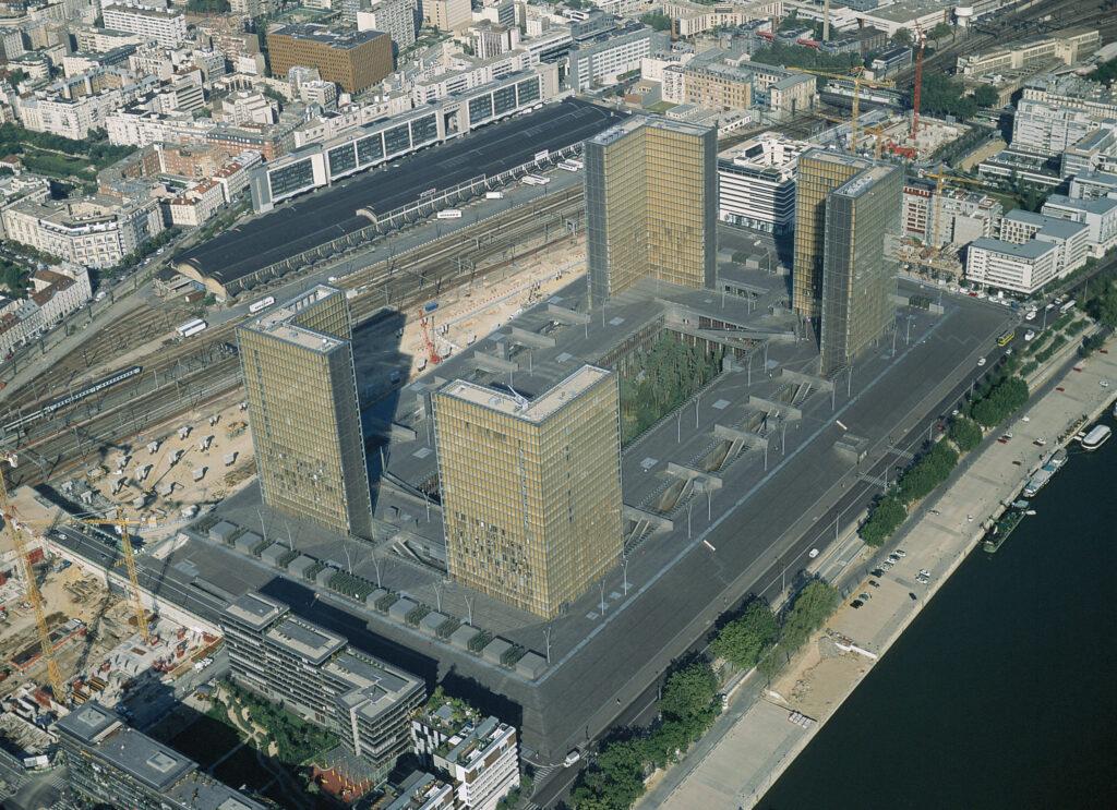 Biblioteca Nacional de Francia, site François Mitterrand