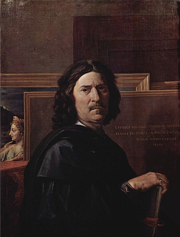 Poussin, Nicolas. (1594-1665), Autorretrato. Louvre