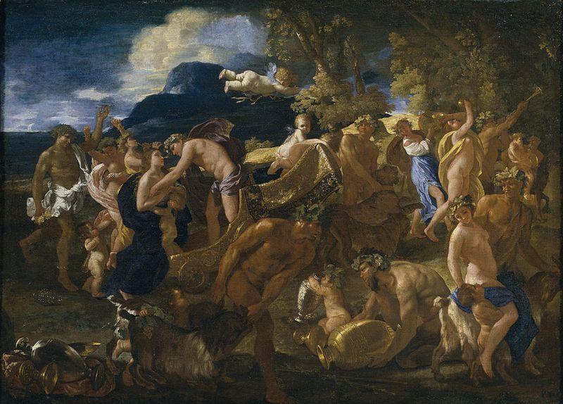 Poussin. Bacanal. Museo del Prado
