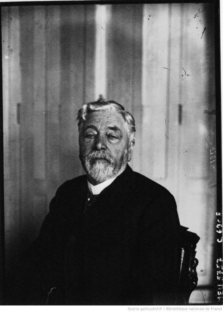 Eiffel, Gustave, a los 78 años (Agence Meurisse). BnF