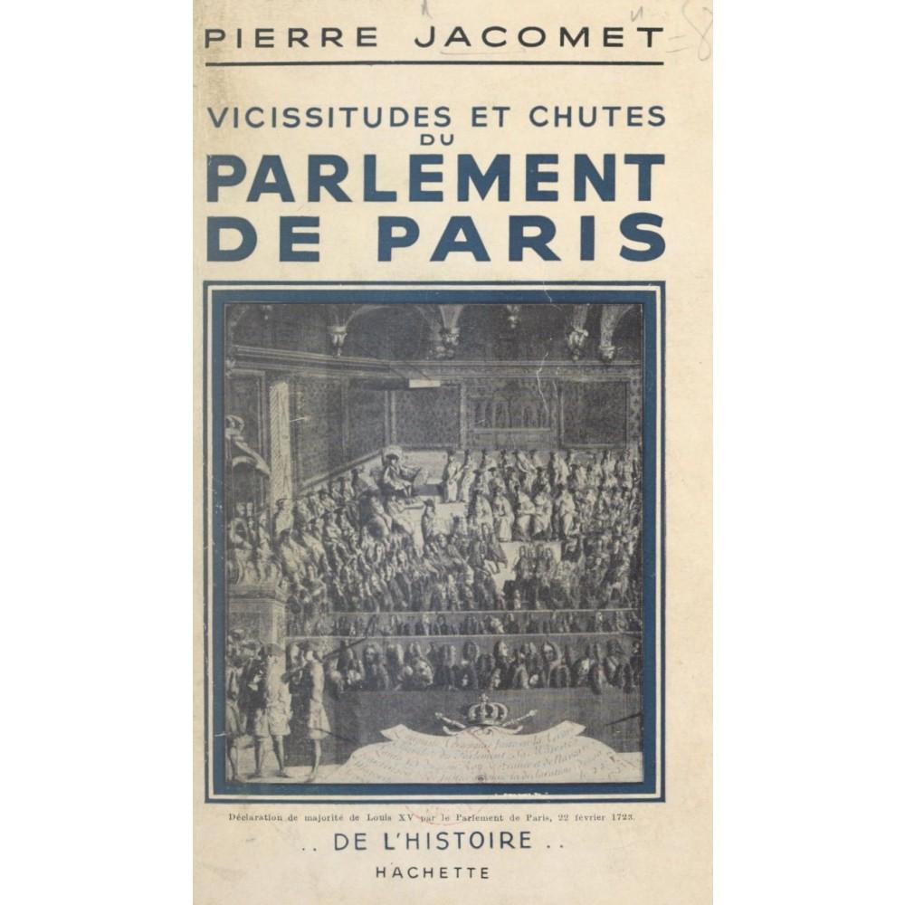 Luis XV. Parlamento de París
