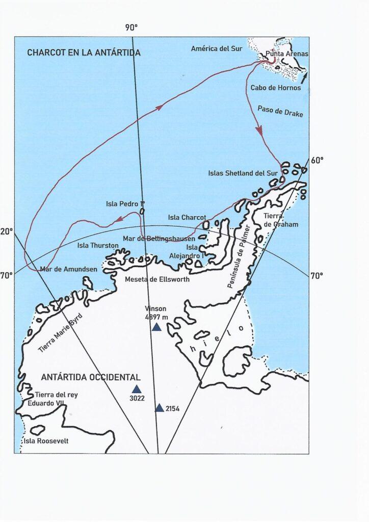 Charcot en la Antártida