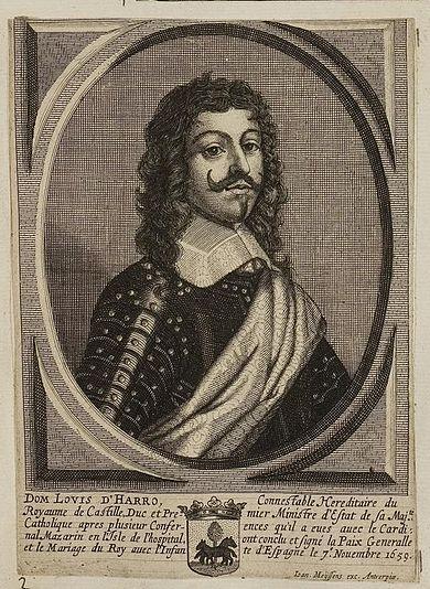 Tratado de los Pirineos. Don Luis de Haro