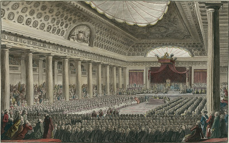 Revolución francesa. Apertura de los Estados Generales