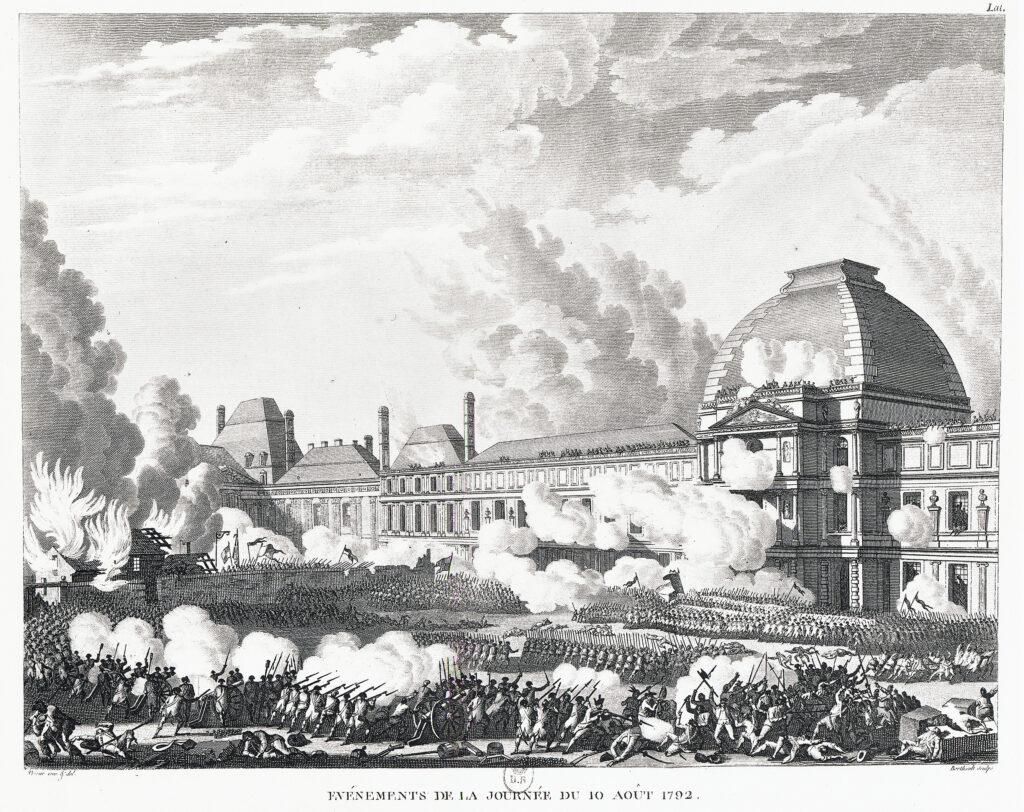 Revolución. Asalto a las Tullerías, 10 de agosto de 1792