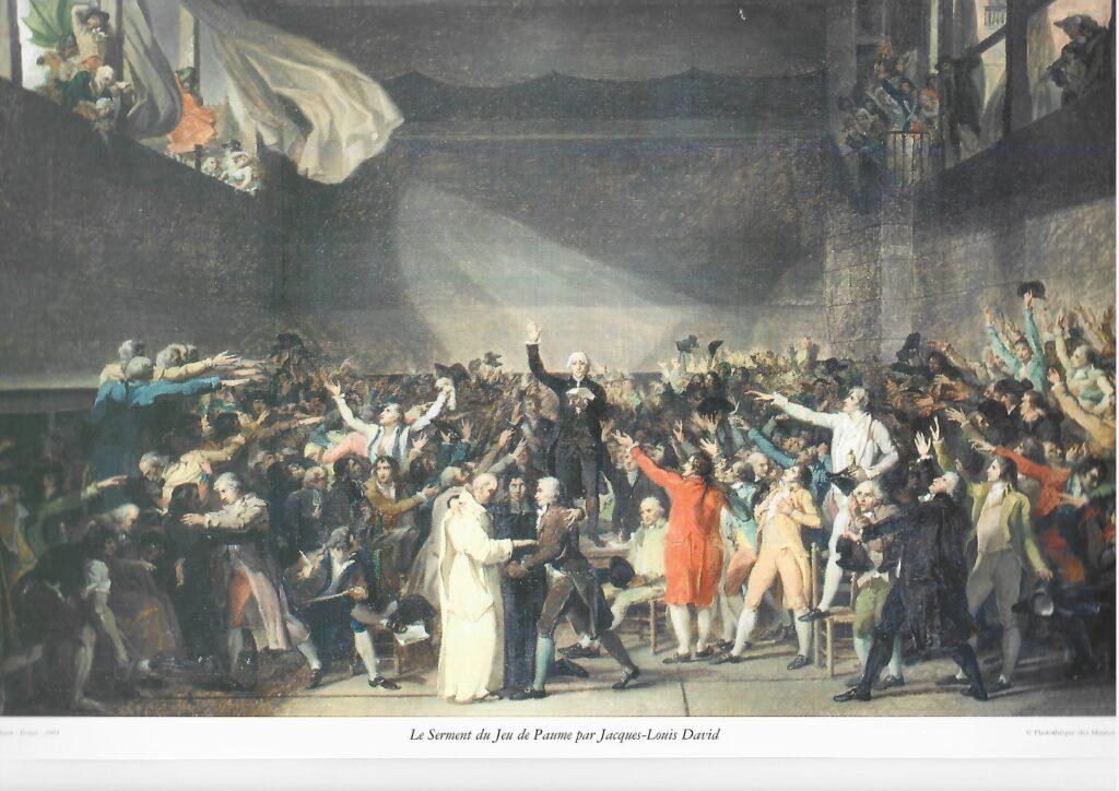 Juramento del Juego de pelota. Jean-Louis David