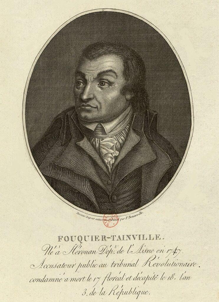 Revolución francesa. Fouquier Tinville